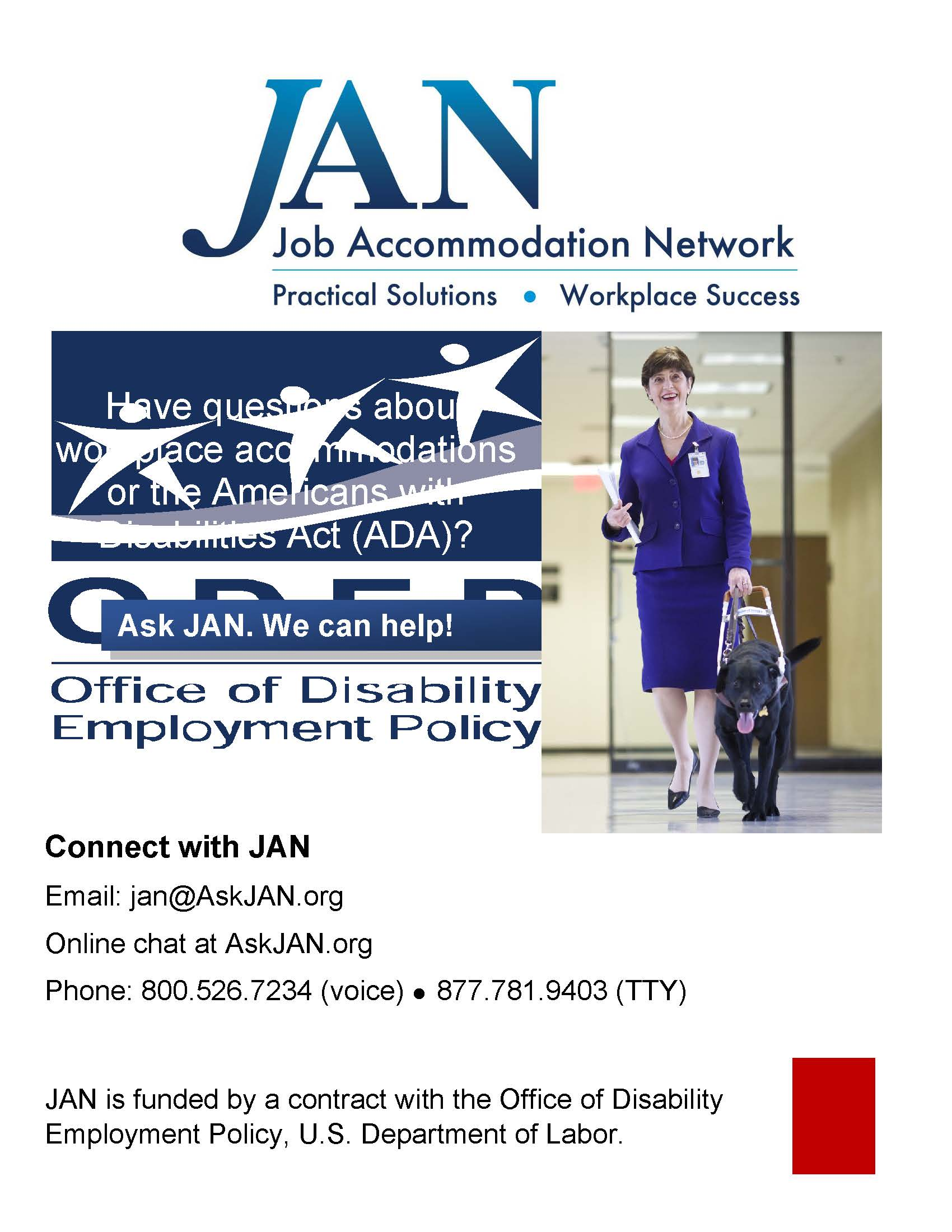 Job Accommodations Network (JAN)