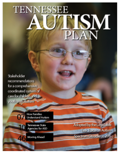 Tennessee Autism Plan Cover Image