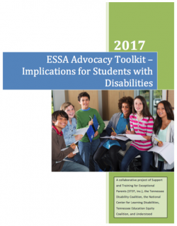 Cover Image of ESSA Toolkit