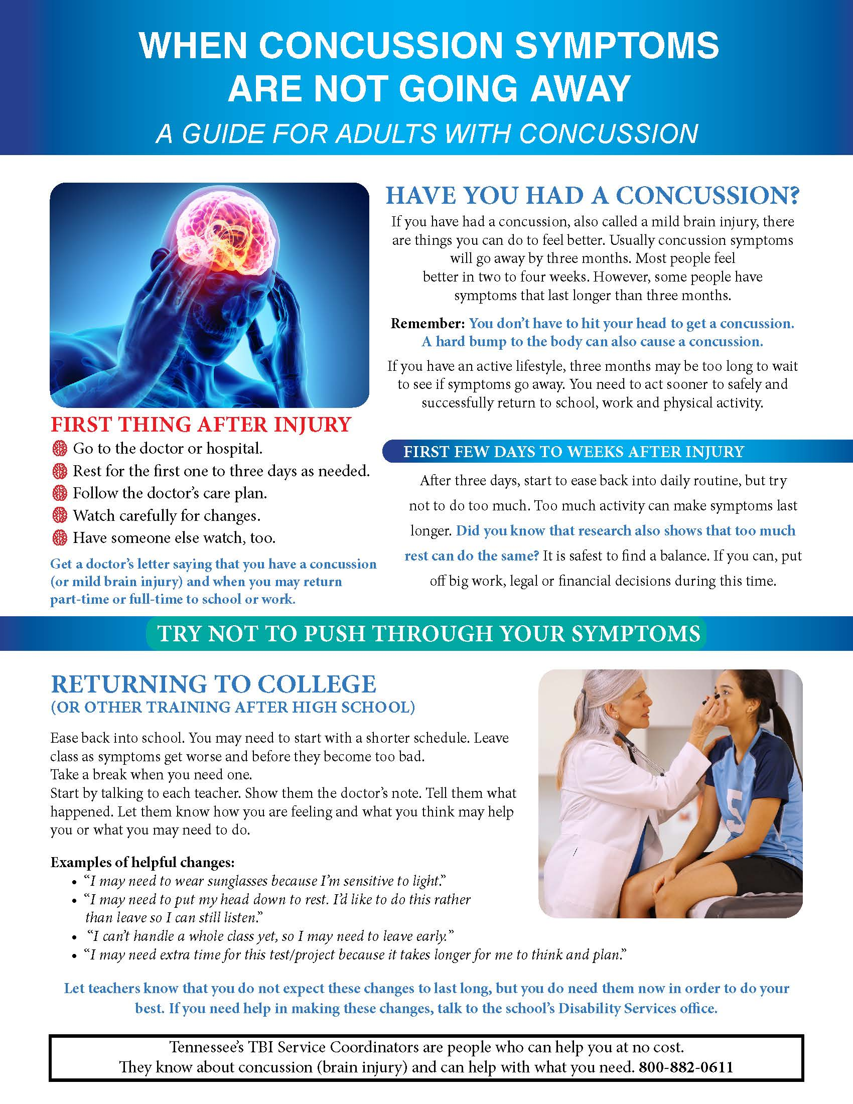 Adult Concussion Guide